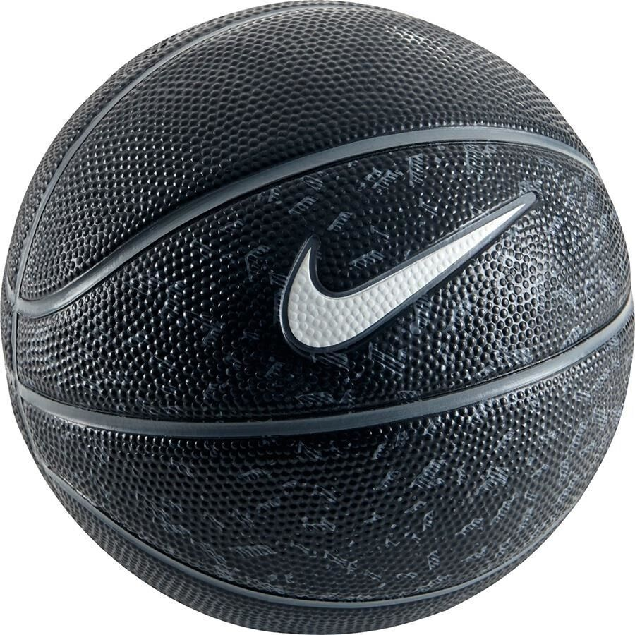 new nike swoosh mini basketball outdoor ball black