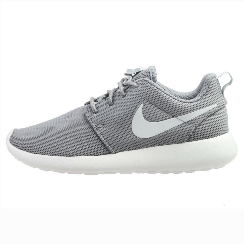 cab5df072ee9 Details about Nike Roshe One Womens 844994-003 Cool Grey Summit White  Running Shoes Size 7.5