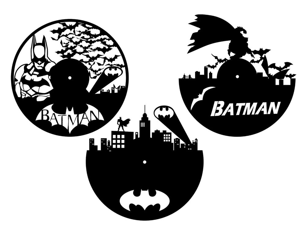 Dxf Cdr And Eps File For Cnc Plasma Or Laser Cut Batman