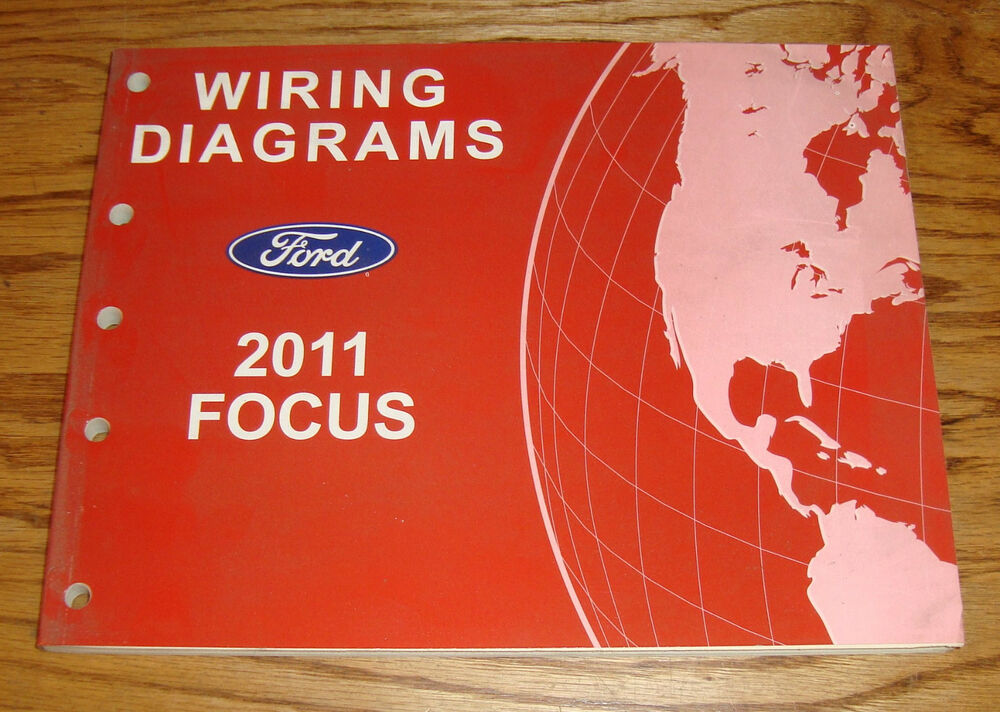 Original 2011 Ford Focus Wiring Diagrams Manual 11
