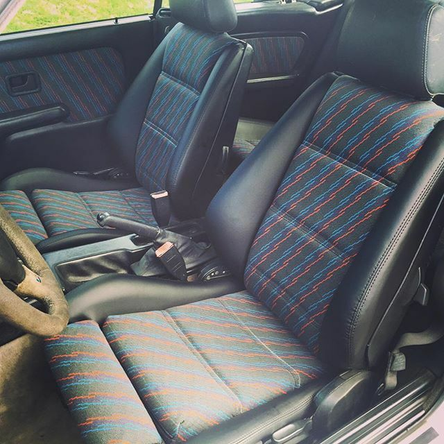 Dye Cloth Car Seats Black