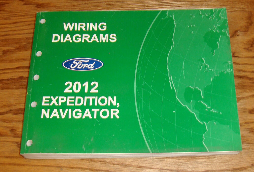 Original 2012 Ford Expedition Lincoln Navigator Wiring
