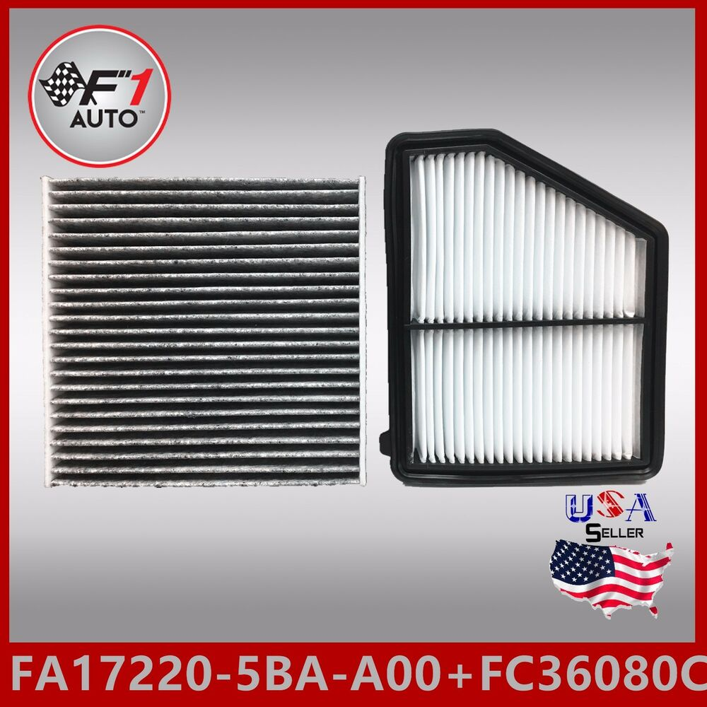 FA9151 FC36080C(CARBON) ENGINE & CABIN AIR FILTER For 2016