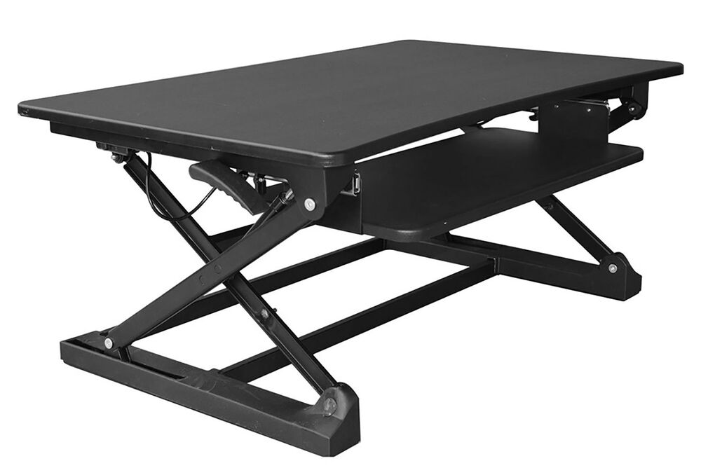 Xec Fit Adjustable Height Convertible Sit To Stand Up Desk