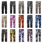 Mens Military Army Cargo Pants Work Camping Fashion Casual Camo Pants