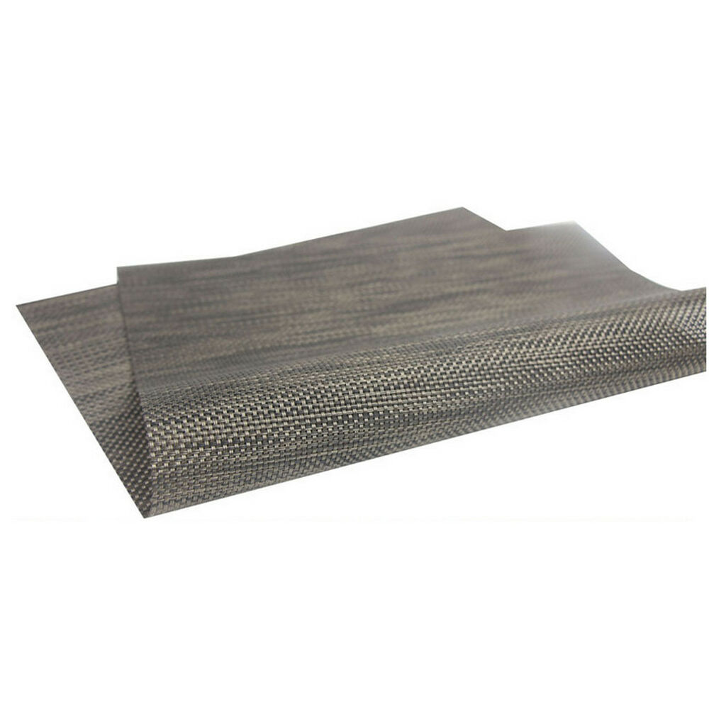 Details About Western Non Slip Heat Insulation Bowl Mat Placemat Table Protector Black
