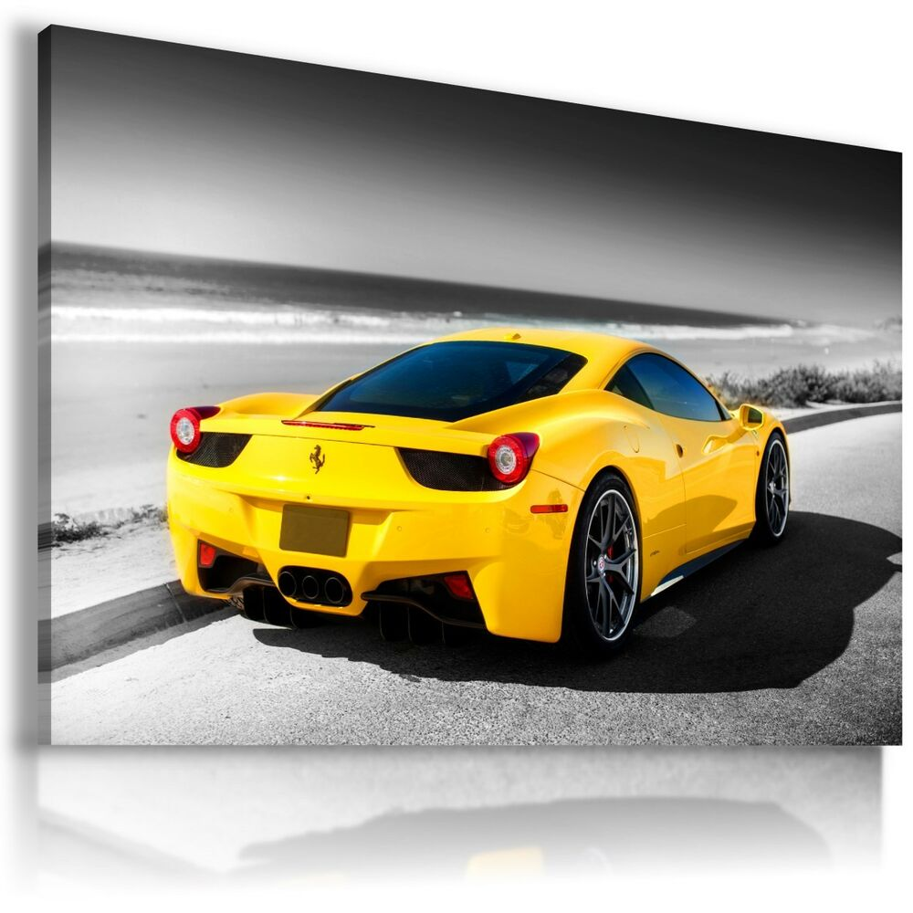 Magnificent Ferrari Wall Art Pictures Inspiration - The Wall Art ...