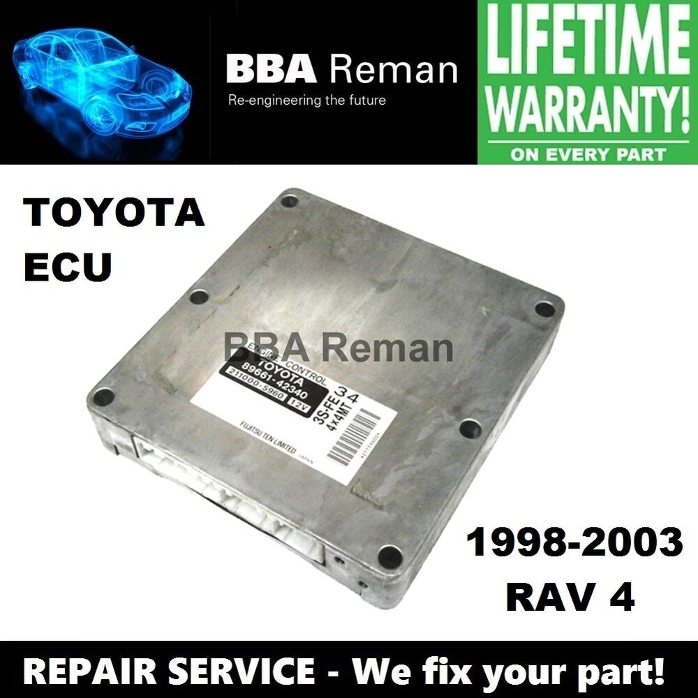 Toyota RAV4 Service Manual: Check and replace ecu
