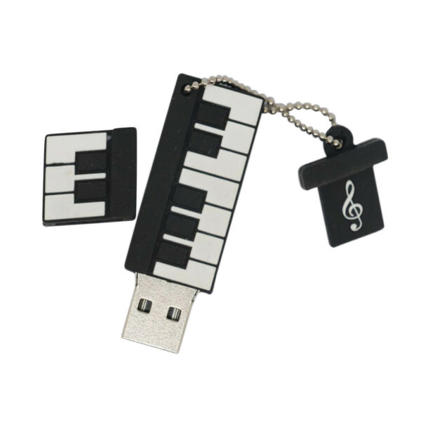 Piano Keyboard 4-32GB USB Flash Drive Pendrive Memory Stick for Computer