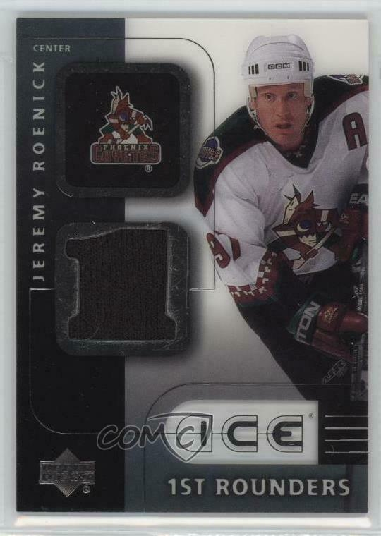 12219374d Details about 2001 Upper Deck Ice 1st Rounders F-JR Jeremy Roenick Phoenix  Coyotes Hockey Card