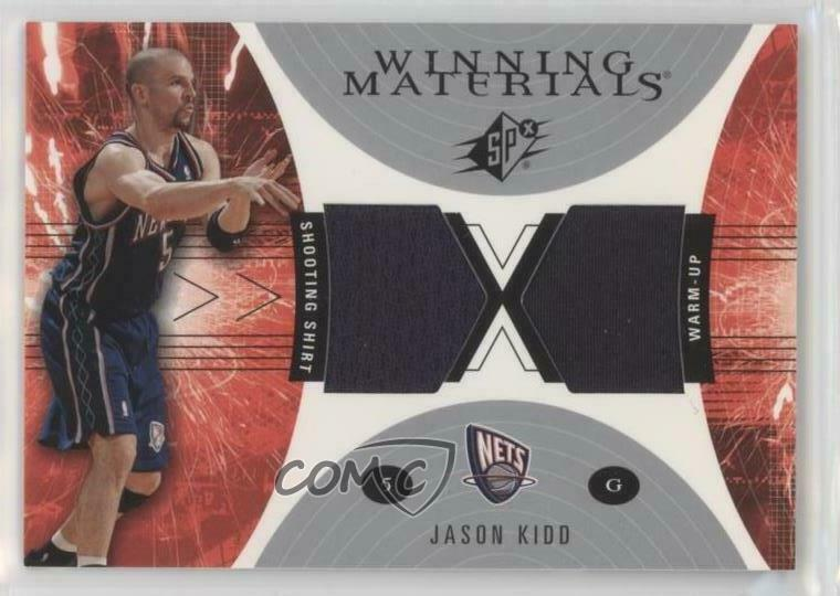8189076d50ad Details about 2003-04 SPx Winning Materials  WM33 Jason Kidd New Jersey Nets  Basketball Card