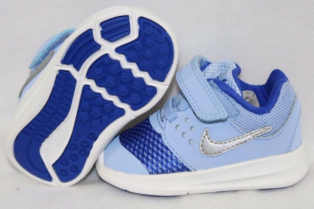 83821415e65c2 Details about NEW Infant Toddler Girls NIKE Downshifter 7 869971 400 Pale  Blue Sneakers Shoes