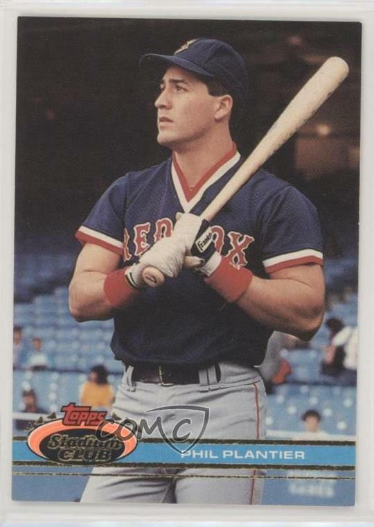 1991 Topps Stadium Club 459 Phil Plantier Boston Red Sox ...