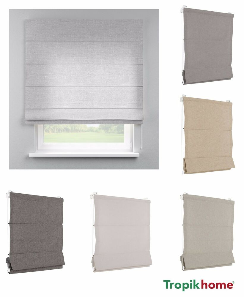 Roman Blinds Many Sizes And Colours Washable Quality