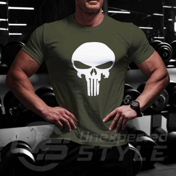 Mens Muscle Fit T Shirt Bodybuilding Crossfit Gym Top For Viking Fans