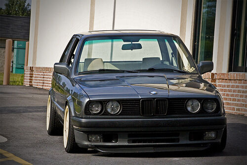 bmw e30 duckbill front spoiler lip apron valance euro bumper ebay. Black Bedroom Furniture Sets. Home Design Ideas
