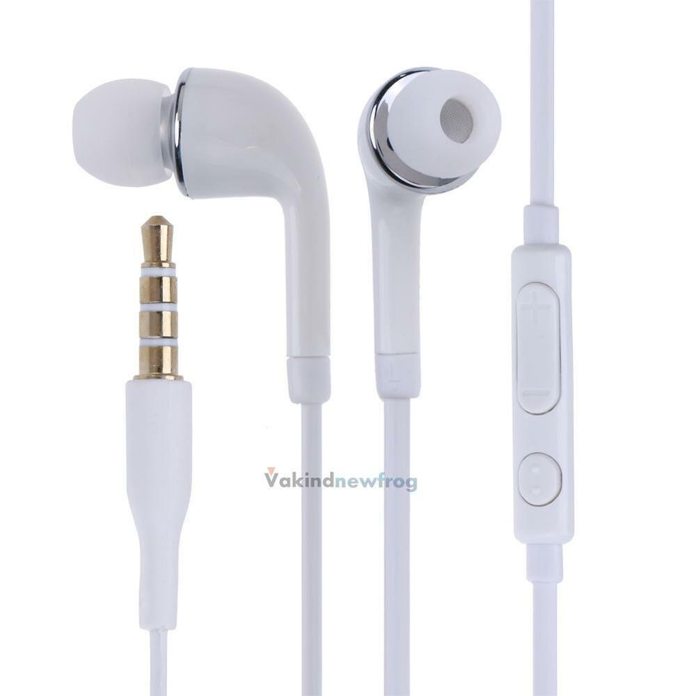 in ear stereo headset kopfh rer mit mic f r samsung. Black Bedroom Furniture Sets. Home Design Ideas