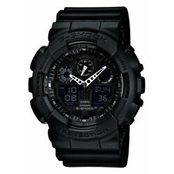 Kyпить Casio GA100-1A1 Men's G-Shock Black Resin Strap Anti-Magnetic Ana-Digital Watch на еВаy.соm