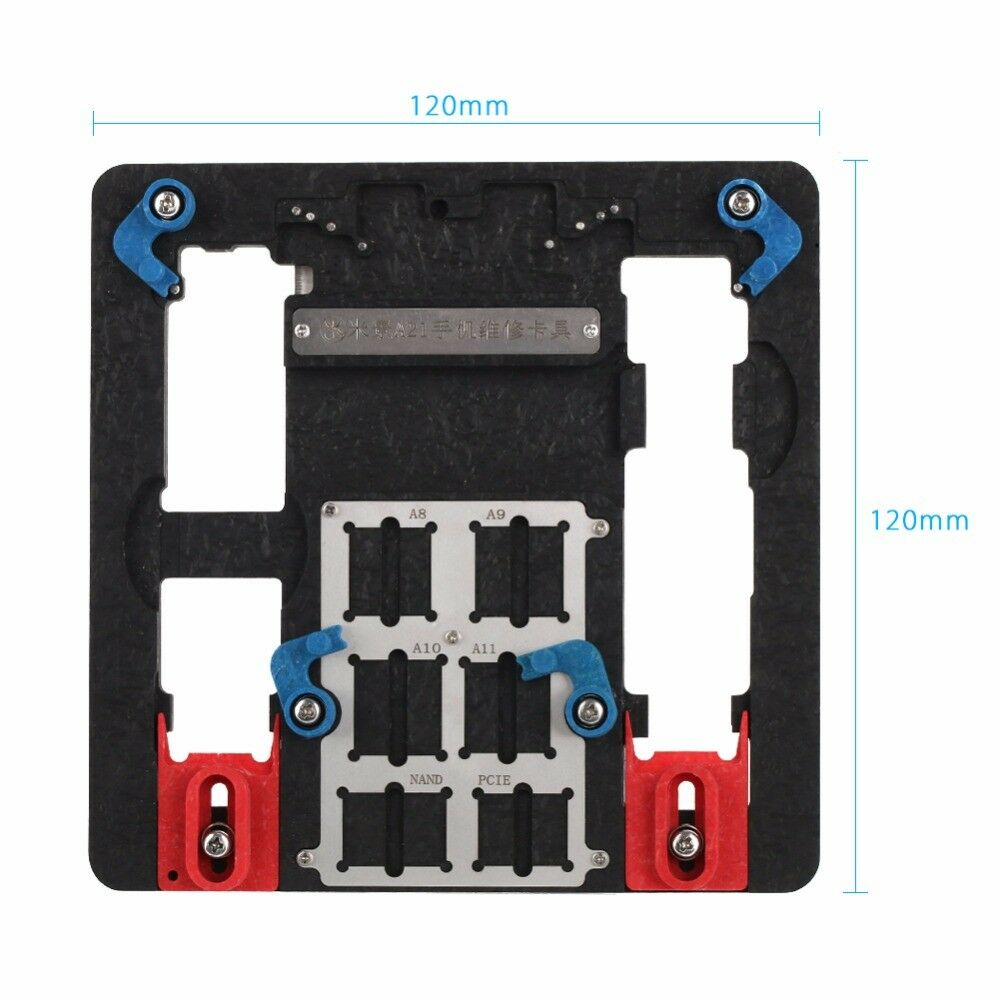 Circuit Board Pcb Holder For Iphone 5s 8p Logic A8 A9 A10 Chip New Stainless Steel Mobile Phone Fixtures Repairing Boards Repair Tool