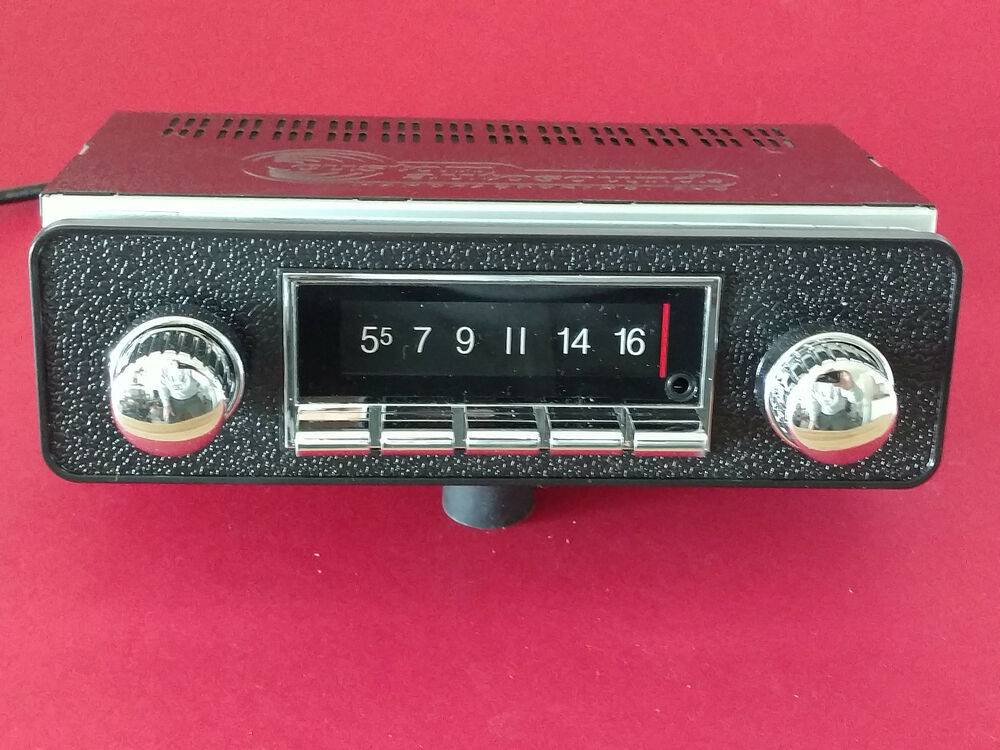 blaupunkt frankfurt vintage classic style car radio am fm. Black Bedroom Furniture Sets. Home Design Ideas