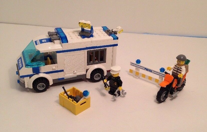 Lego 7286 Prisoner Transport City Retired 100 Complete W