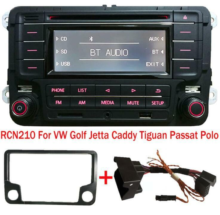 Car Stereo Vw Rcn210 Canbus Cable Bluetooth Cd Usb Aux Golf Touran Can Bus Wiring Diagram Mk5 Jetta Polo Ebay