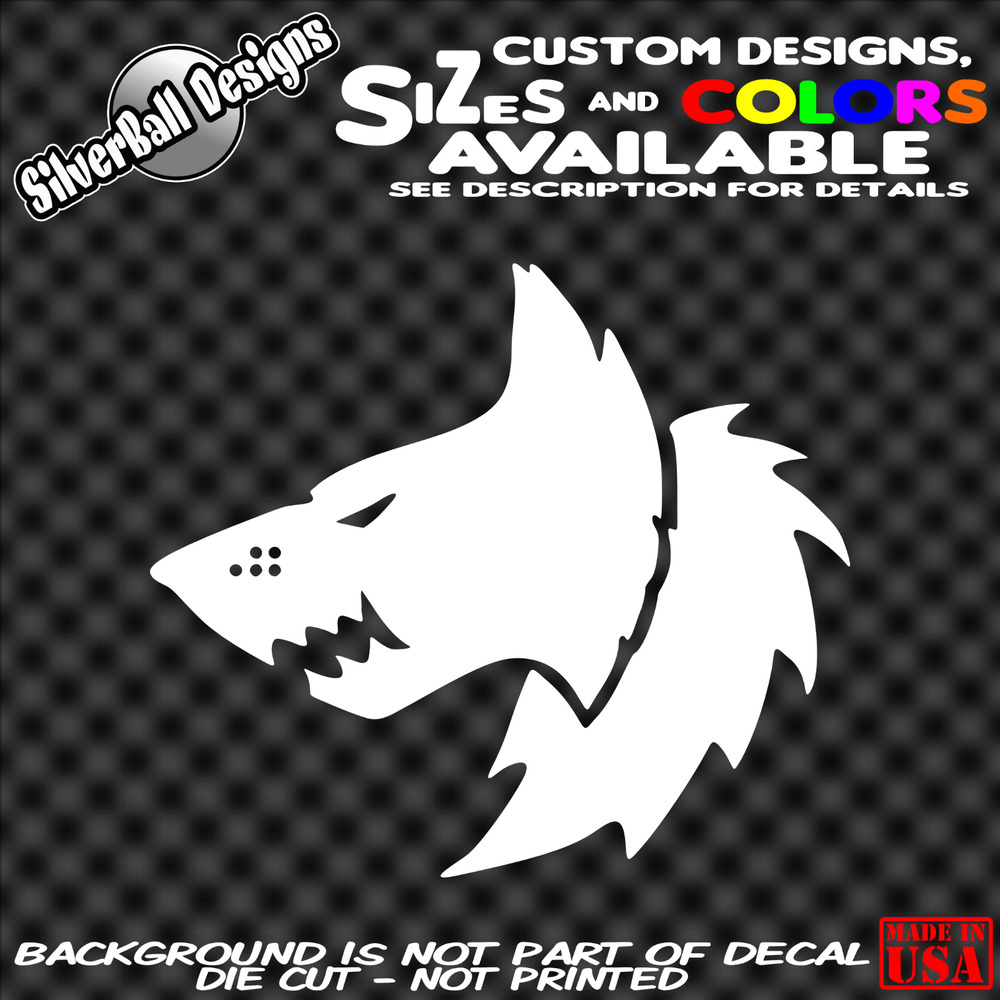 Details about space wolves custom vinyl decal sticker car truck window warhammer 40k dd