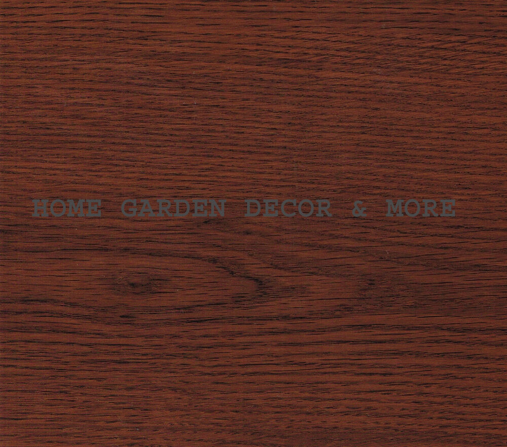 Details About Dark Red Wood Grain Cherry Vinyl Contact Paper Shelf Drawer Liner L Stick