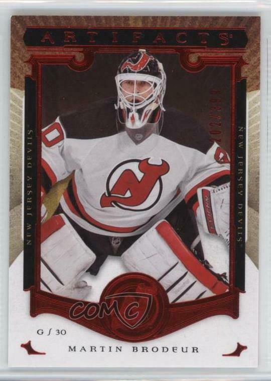 2015 Upper Deck Artifacts Ruby 142 Legends Martin Brodeur New Jersey