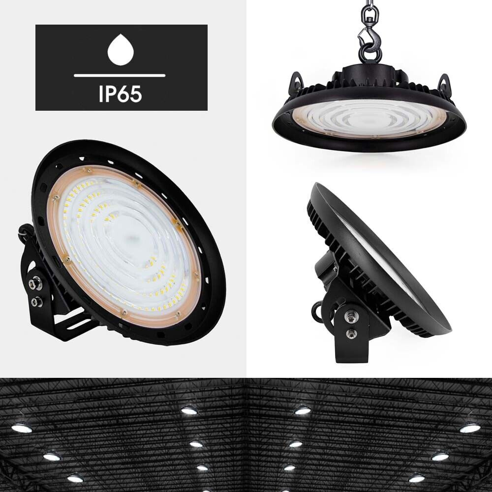 Led High Bay Lights Ireland: UFO LED High Bay Light 50W/100W/150W/200W Commercial