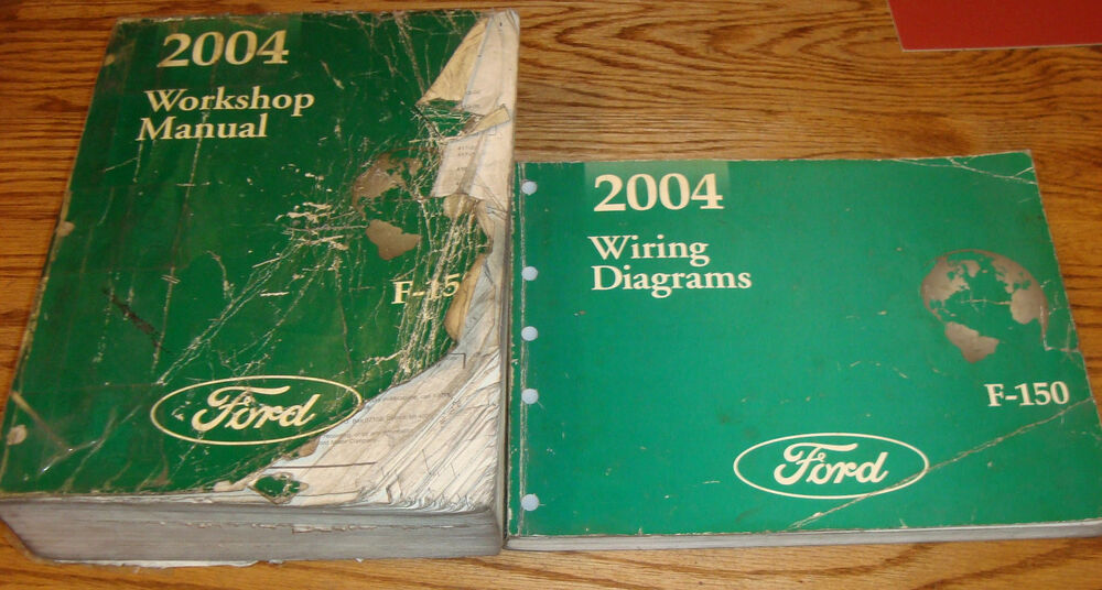 Details About Original 2004 Ford F 150 Truck Service Manual Evtm Wiring Diagram Set 04