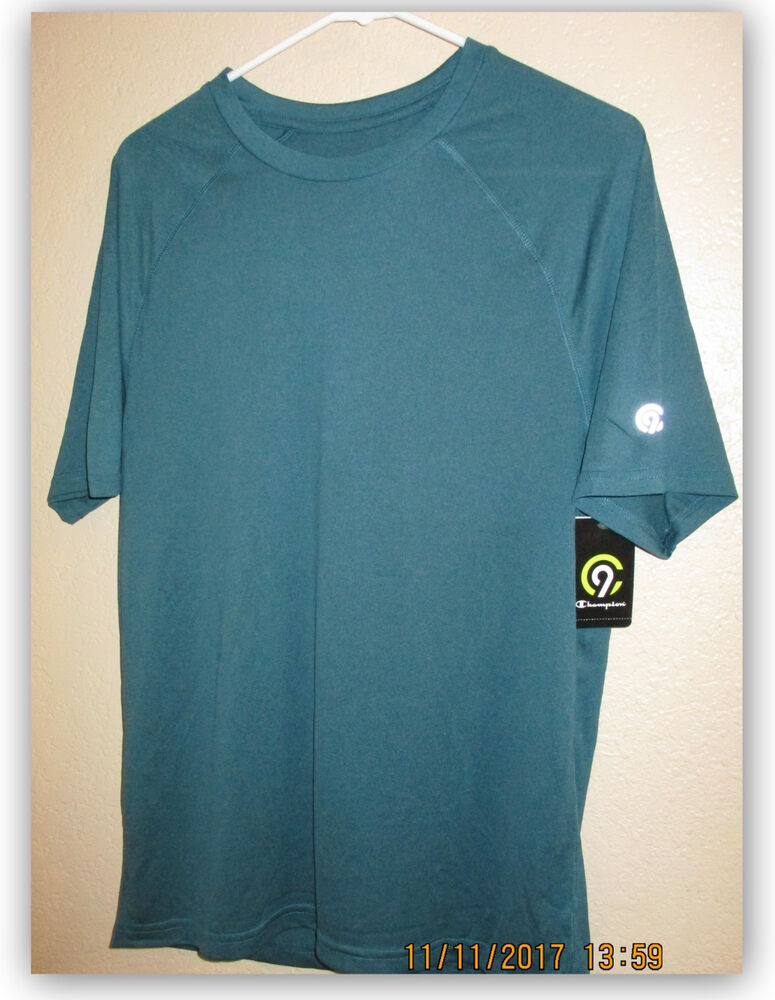 39507140106a Details about C9 Champion Men s Tech T-Shirt Athletic Duo Dry moisture  wicking fast dry 15 UPF