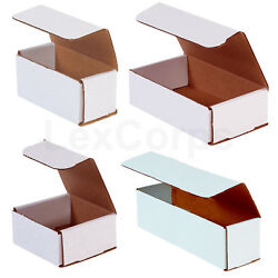 Kyпить White Corrugated Mailers MANY SIZES 50 100 200 Shipping Boxes на еВаy.соm