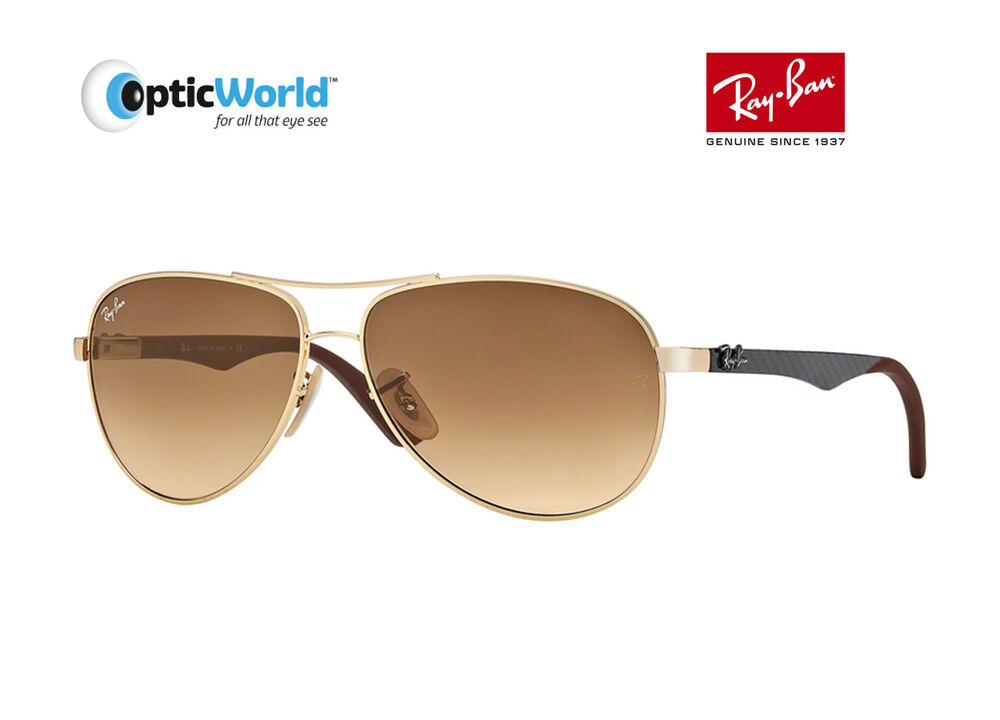 975f63a29ac81 Details about Ray-Ban RB8313 CARBON FIBRE - Designer Sunglasses with Case  (All Colours)