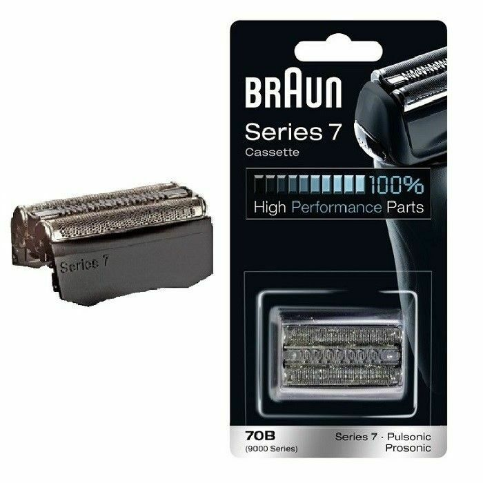 Braun Series 7 70B - replacement foil and cutter 9565 9585 9595 720 730- black | eBay