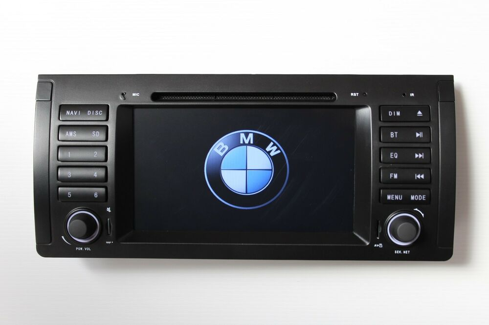 autoradio navigatore per bmw e39 e38 x5 e59 stereo 2 din. Black Bedroom Furniture Sets. Home Design Ideas