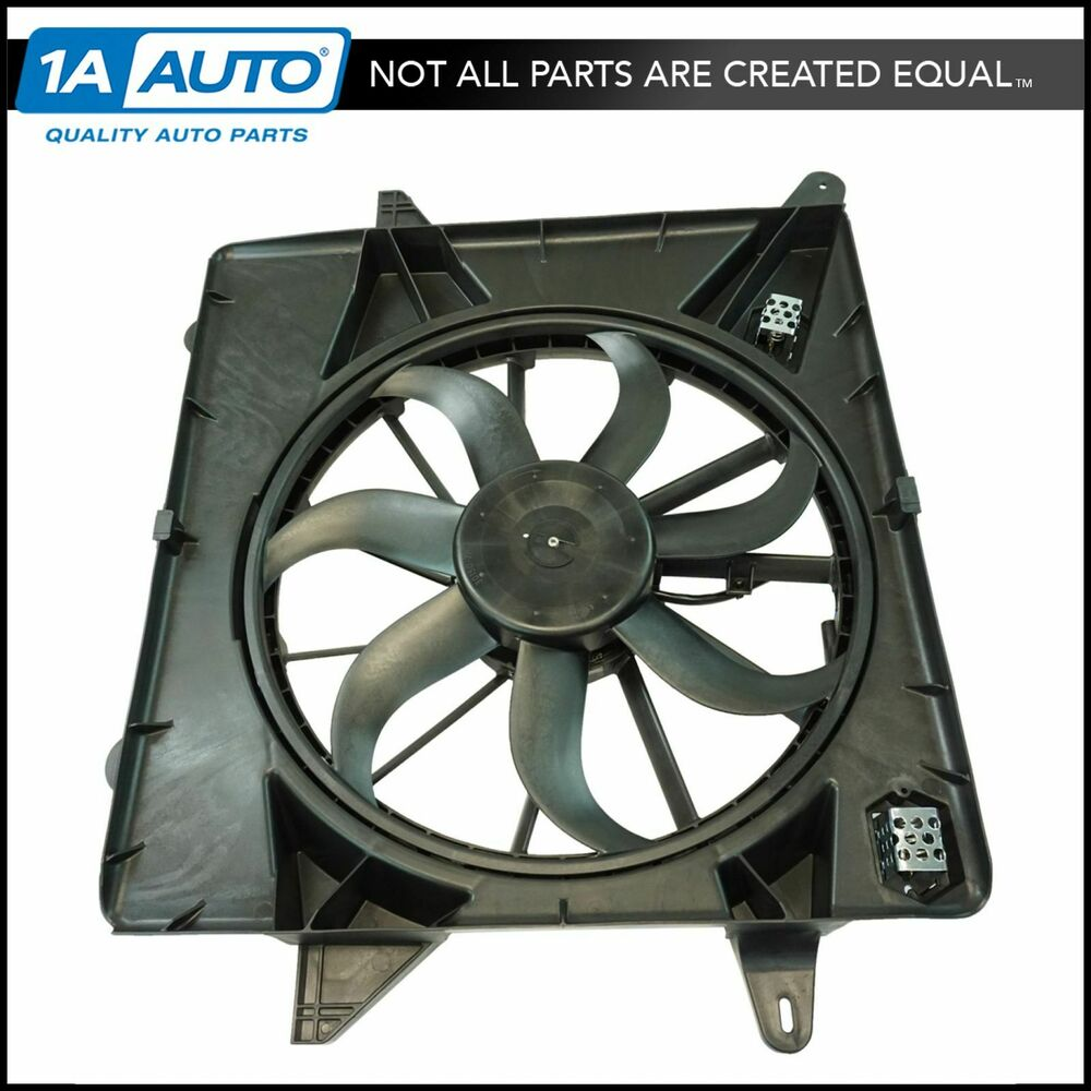 Radiator Cooling Fan Assembly For Cadillac SRX SUV Brand