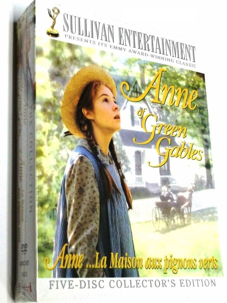 Anne Of Green Gables The Trilogy Collection Dvd 2008 5