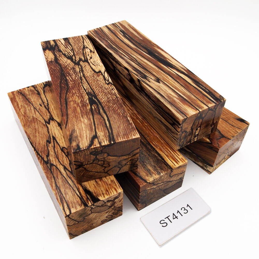 gestockte buche stabilisiert messer griff holz spalted beech st4131 ebay. Black Bedroom Furniture Sets. Home Design Ideas