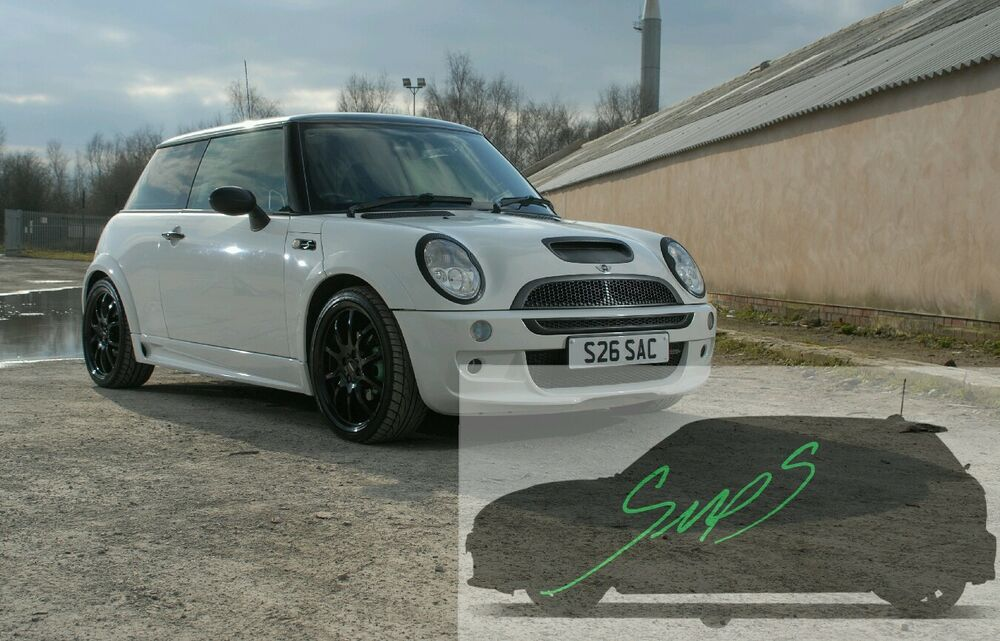 Mini Cooper S Jcw Beltline Tape Black R505253 De Chrome Gloss