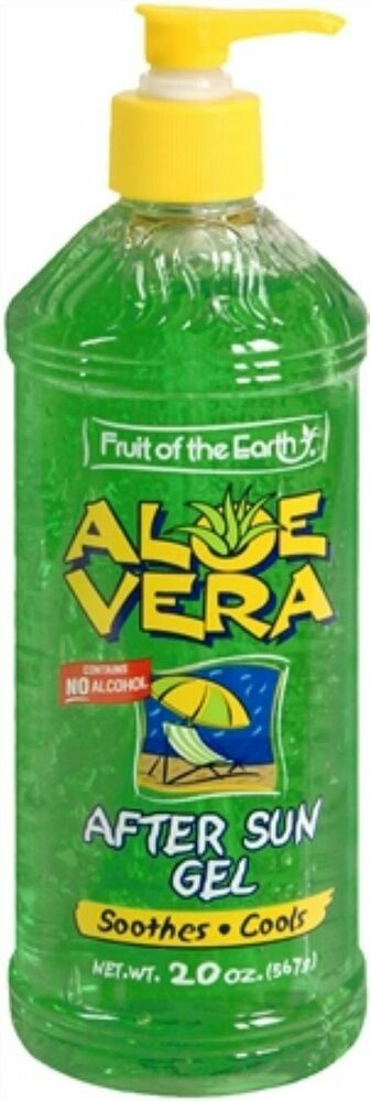 After Sun Skin Care 567 G Fruit Of The Earth Aloe Vera After Sun Lotion 20 Oz
