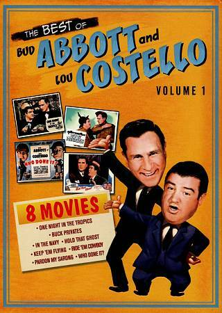 BEST OF BUD ABBOTT AND LOU COSTELLO VOLUME 1 DVD 2012 4 Disc Set NEW