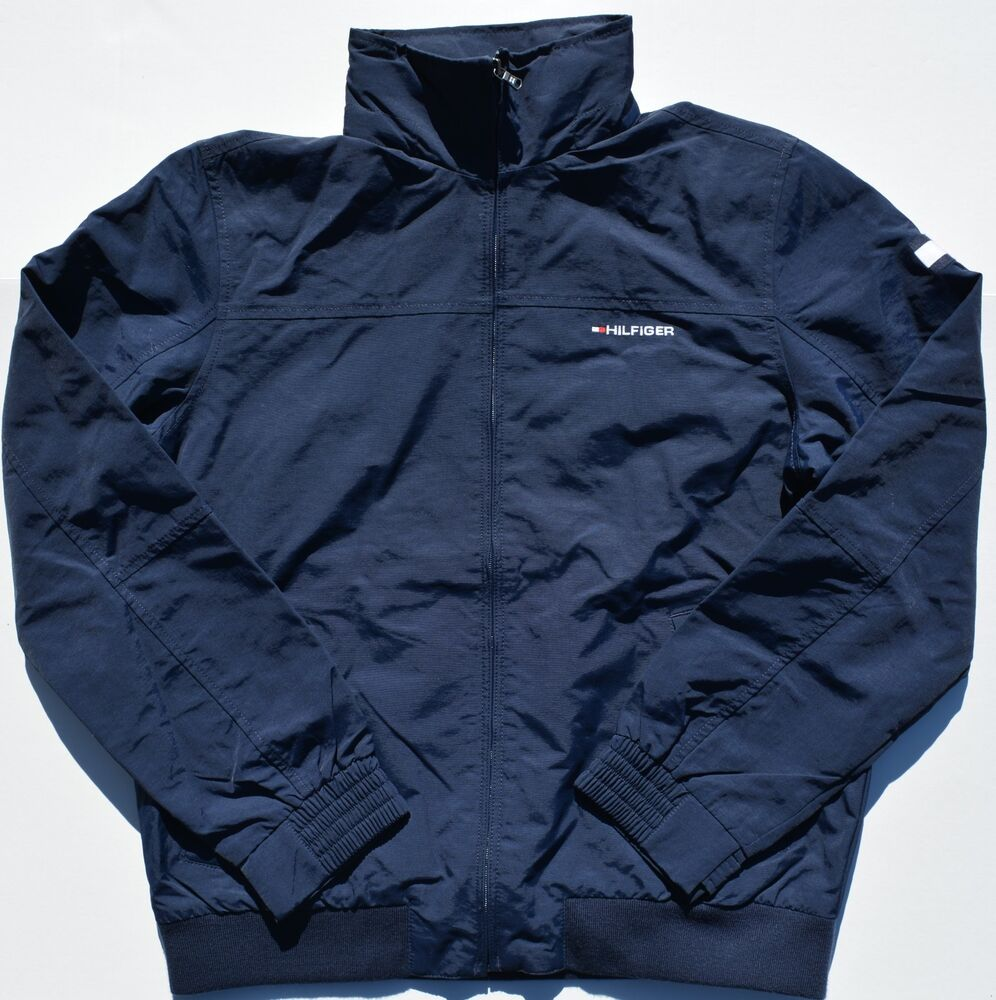 Nwt Men S Tommy Hilfiger Yacht Jacket Outerwear Hoodie