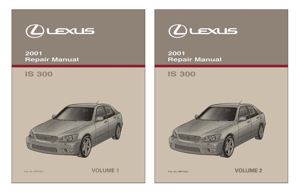 2001 lexus is 300 shop service repair manual book 602693823050 ebay rh ebay com Lexus IS300 Motor Lexus IS300 Parts Catalog