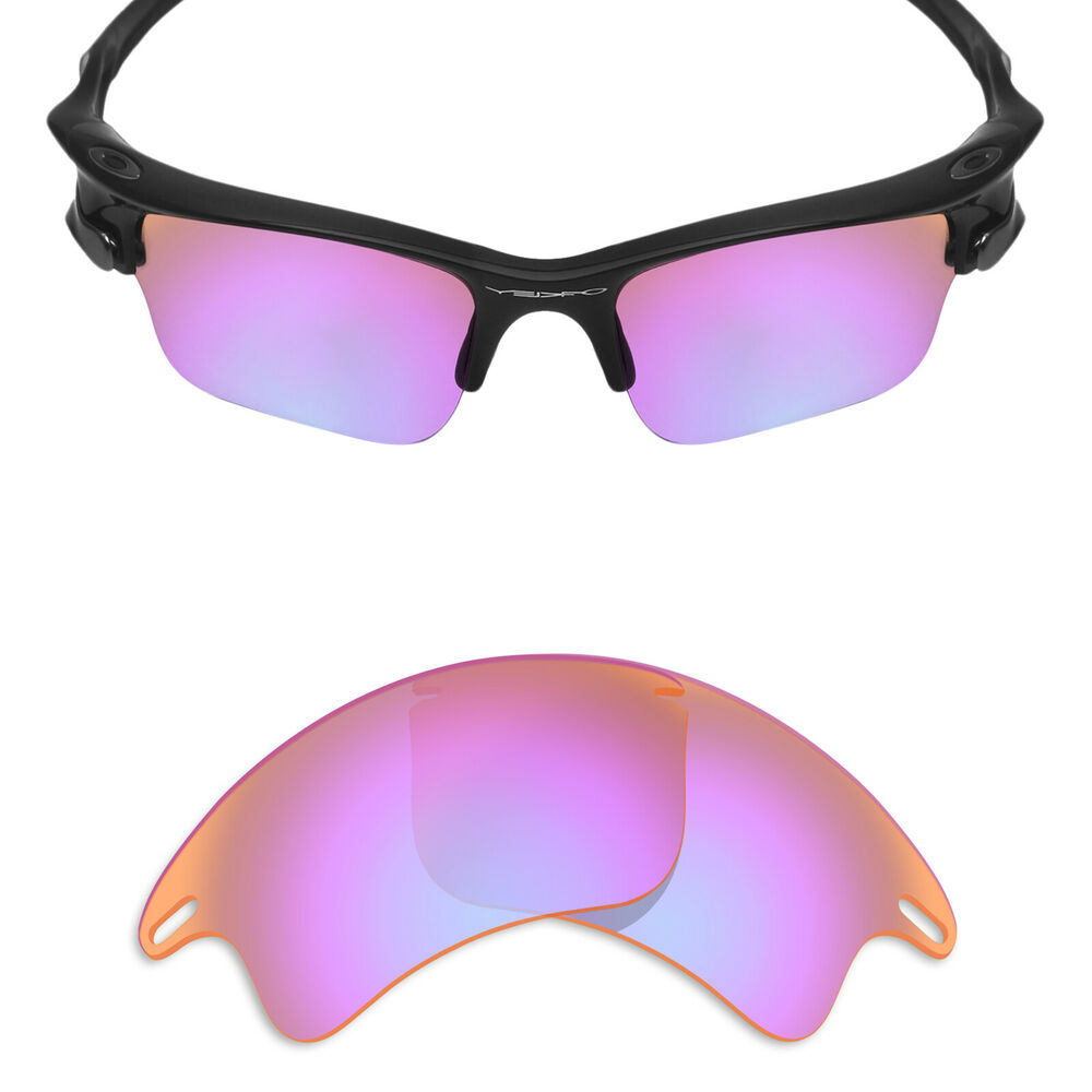 4d380cedc4797 Details about MRY POLARIZED Replacement Lenses for-Oakley Fast Jacket XL  Sunglass Cobalt Rose