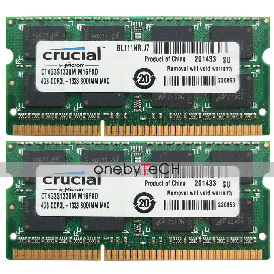 1X 4GB 1333Mhz DDR3 RAM Memory PC3-10600S for MacBook Pro A1297 2011