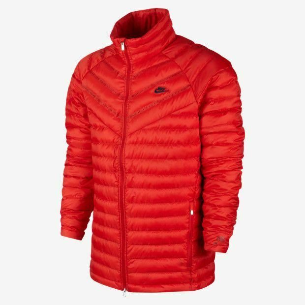 4608d04a5375 Details about Nike Aeroloft 800 Insulated Running Jacket SZ XL 622038-657   400 SUMMIT RED