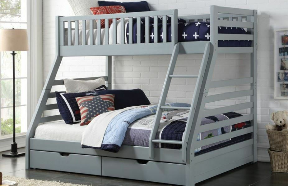 Sweet Dreams States Wooden Triple Sleeper Bunk Bed Frame