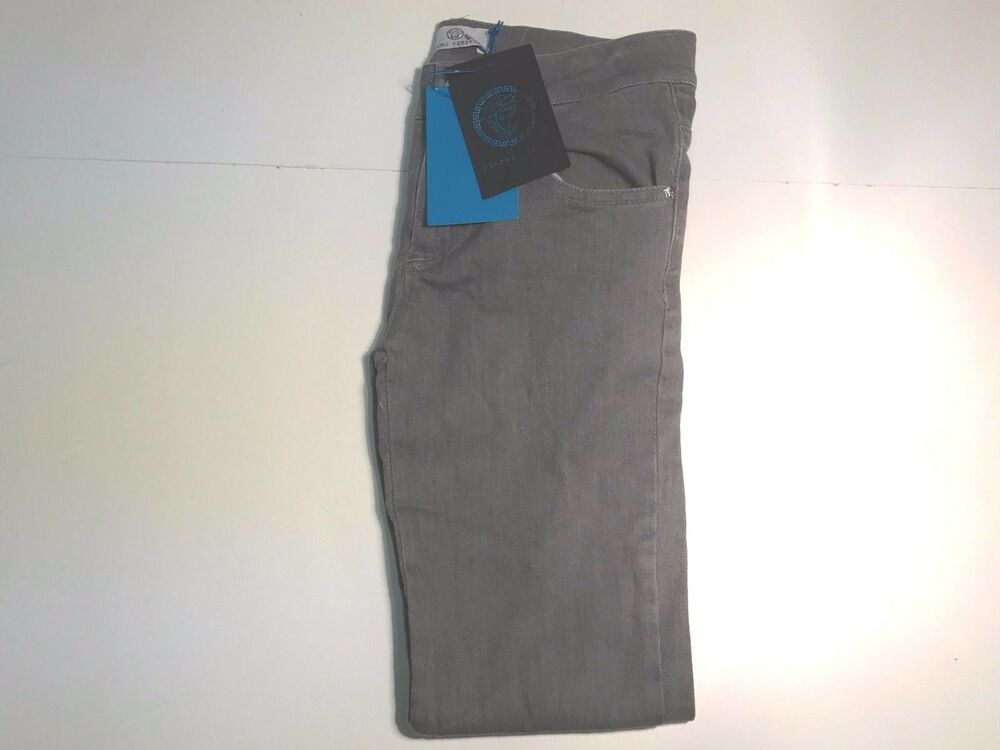 b2af97ed6e8c NEW Young Versace Boys Soft CLASSIC GREY JEANS PANTS Sz L RTL  220 YVMPA04  P152