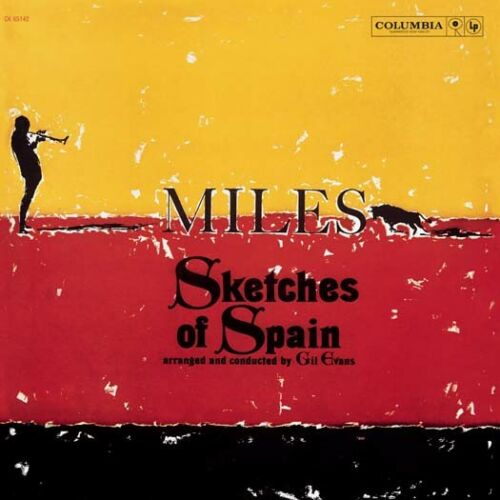 MILES DAVIS Sketches of Spain LP yellow Vinyl NEW 2017